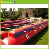inflatable human foosball fields sport hot sale mini soccer goal field