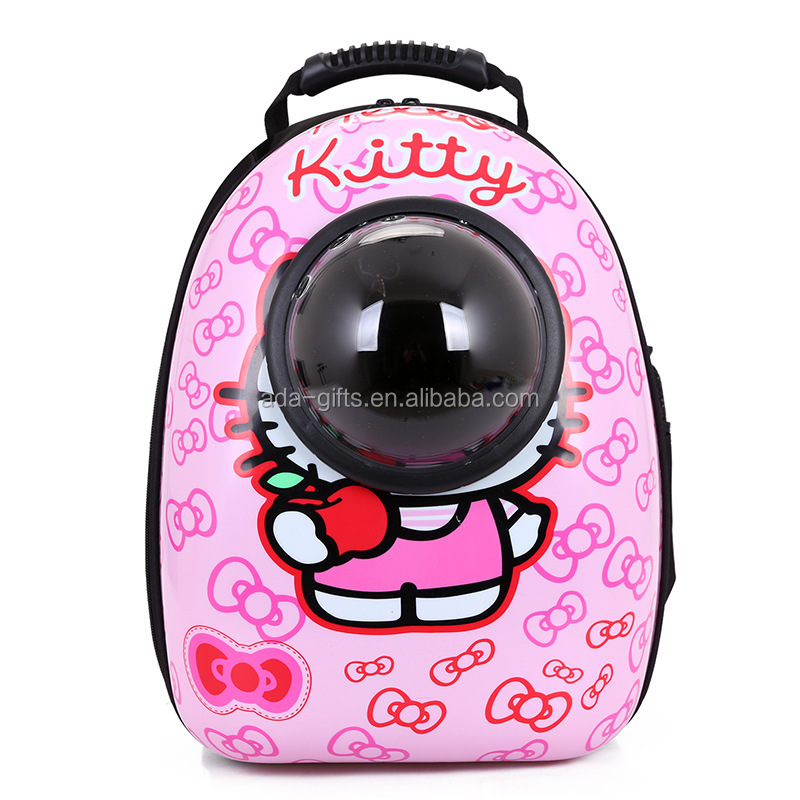 wholesale Pet Carrier Backpack Space Capsule Shaped Breathable pet carrier bag