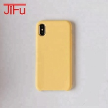 2018 NEW anticollision soft feeling good liquid silicone phone case for iPhone X