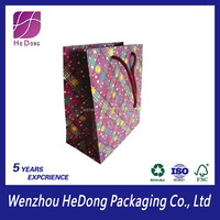 Cheap retail paper bag for shopping and gift