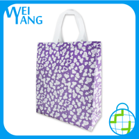 Promotional Product of Non Woven Custom Logo Foldable Shopping Hand Polyester Bag