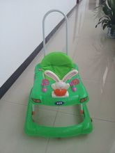China High quality Plastic baby walker with push Bar CE Certificate