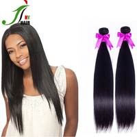 2016 Wholesale 8a grade 100% unprocessed peruvian virgin hair weave overnight shipping straight peruvian human hair extension
