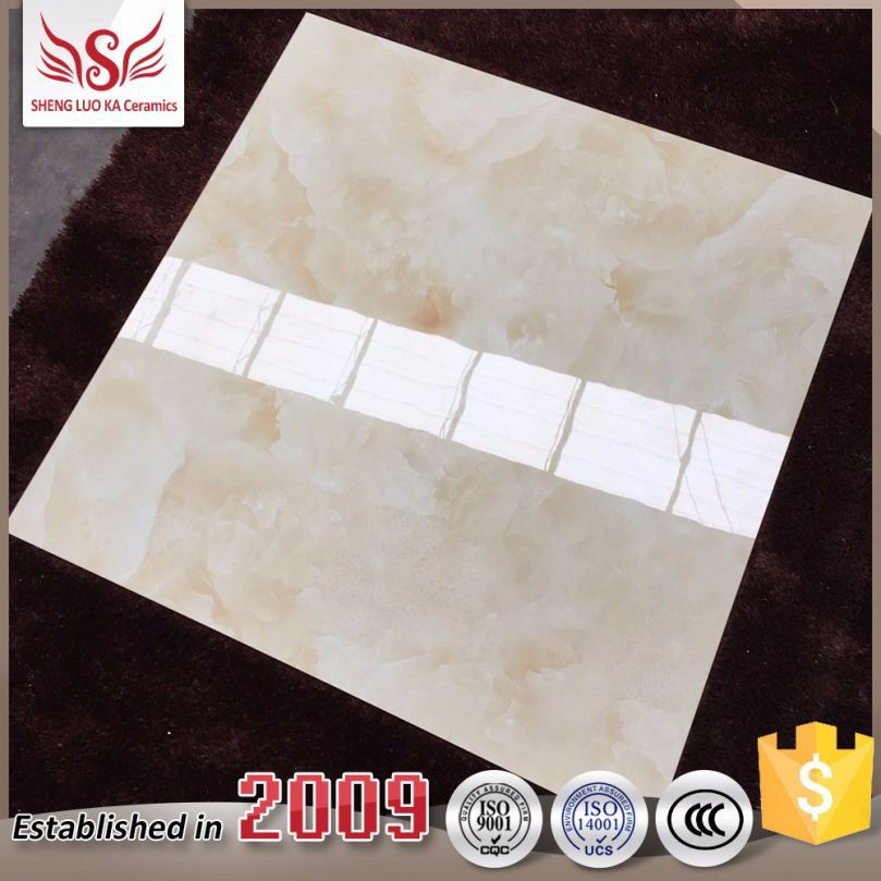 Economic high grade nartural marble stone fence glazed tiles