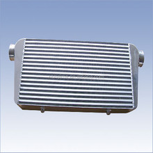 Hot sell aluminum bar& plate turbo aluminum front mount intercooler 400x155x65