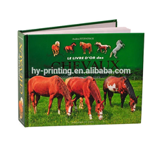 high quality hardcover book binding and printing