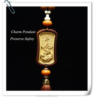 Yazhixuan Quality Product Chinese Traditional Wood Carved Handicraft Type Pendant On Sale