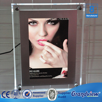 Outdoor Display Wall Hanging crystal advertising led light box