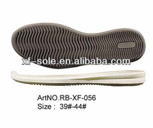wholesale fashion adhesive rubber soles for shoes XF-056