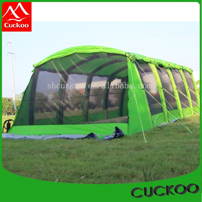 Relief tent/refugee tent/emergency inflatable tent 8*3m