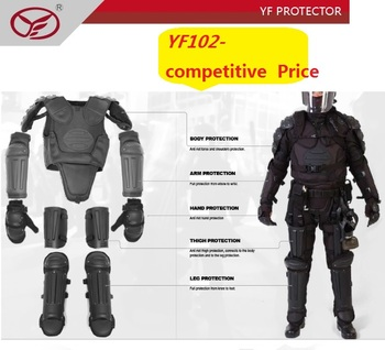 police equipment full body armor anti riot suit