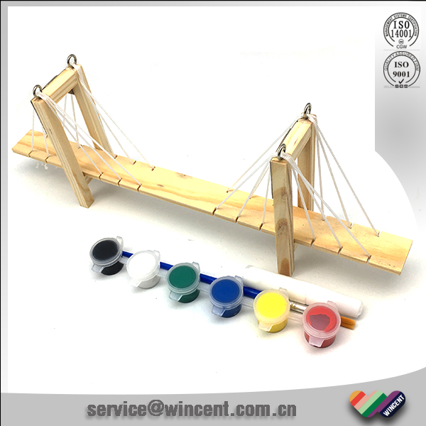 Kids 3D Wooden Bridge Toy