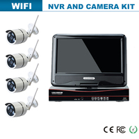720P IP camera for 10.1inch wireless WiFi nvr combo
