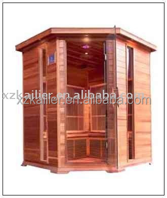 Far Infrared Sauna for 5person, 5 Person Corner sauna ELT CE ROHS approved