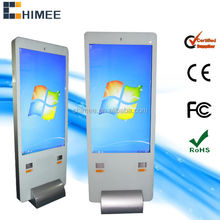 65inch stand large touch monitor computer for supermarket
