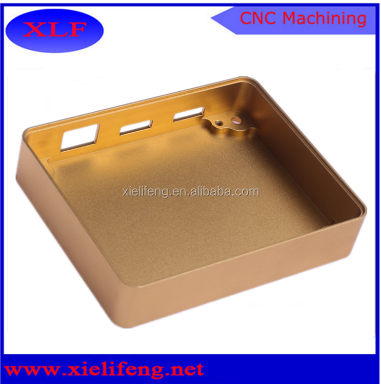 Custom bling box finishing anodized 13 years experienced in China factory