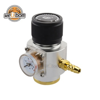CO2 Mini Gas Regulator CO2 Charger Kit 0-90 PSI corny cornelius keg charger for European Draft Beer