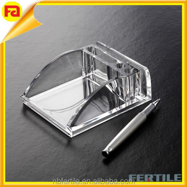 Hot sale acrylic accessories organizer for office desk - Acrylic desk organizer set ...
