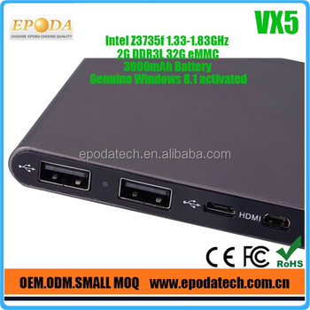 2016 factory lowest price wholesale mini pc intel mini pc ddr3 2gb/32gb with 1 years warranty