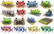 2017 New design school furniture used kids plastic school furniture for kindergarten preschool