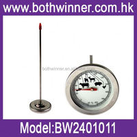 good temperature gauge ,H0T066 dial round bbq food thermometer