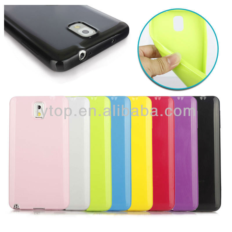 colorful soft tpu case for samsung galaxy note3,for samsung galaxy note3