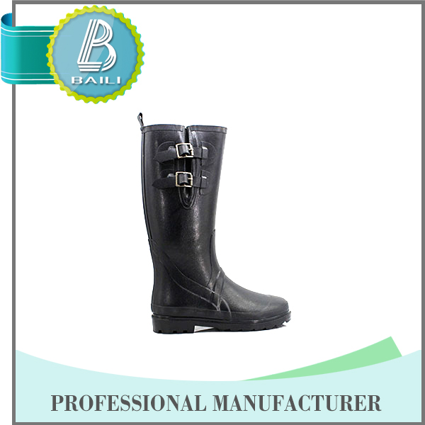 Womens fashionable wellies boots