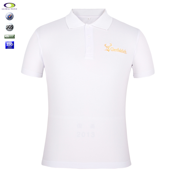 Wholesale Polyester 100% Polo T-Shirt Embroidered