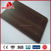 outdoor non fading wood plastic composite panels