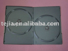 PP 7mm double standard black plastic dvd case with recycle