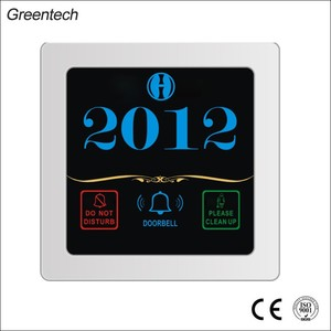 LCD Touch Digital Panel Touch Screen Hotel Doorplate