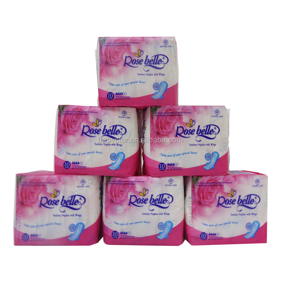 2017 promotion OEM manufacture free samples women sanitary pads