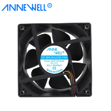 Factory <strong>OEM</strong> 12038 IP55 IP68 waterproof 12v 24v 48v dc axial cooling fan FG RD PWM 120mm 120x120x38mm industrial exhaust fan
