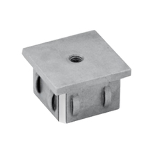 hollow square steel tubing end cap