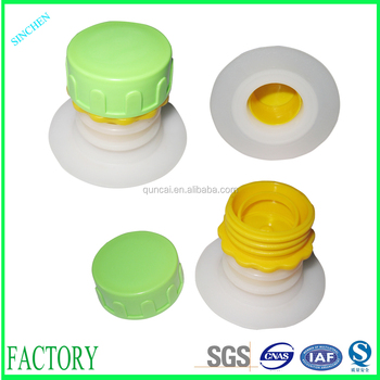 2017 plastic edible oil dispenser spout, 30mm oil cap BIB spout