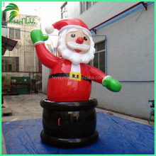 Inflatable Santa Claus characters,Inflatable Christmas Decoration,Inflatable Cartoon For Christmas Decoration