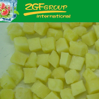 IQF Frozen Fresh pineapple slice ring in good quality in bulk