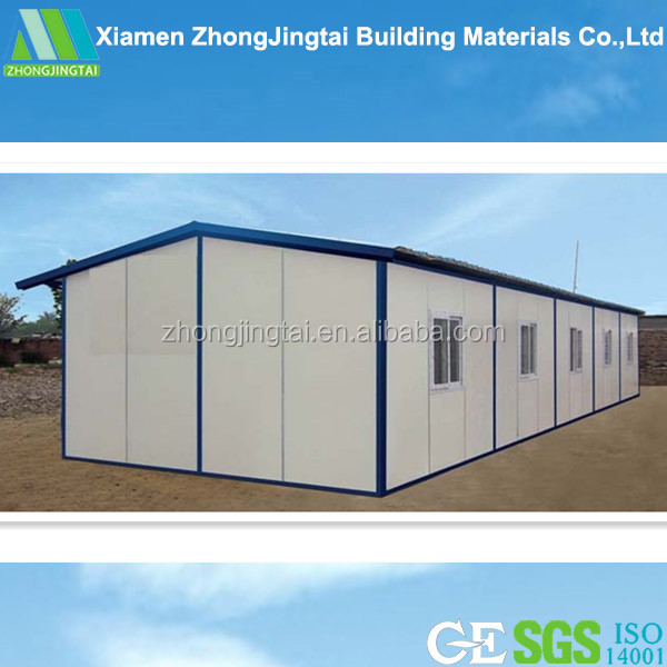 ZJT office wall EPS sandwich panel mobile 40ft container home