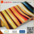 Micro brush color strips bedding fabric wide