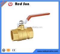 HR2020 1/4''-2'' forged brass ball valve