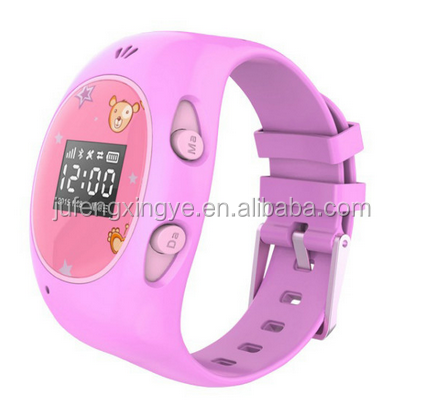 GPS SOS MTK6261 cute kid watch for girls/boys Monitoring call
