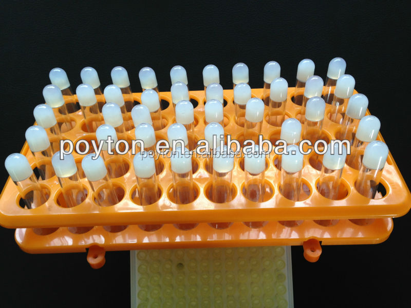 Disposable medical supplier for serum blood collection tube