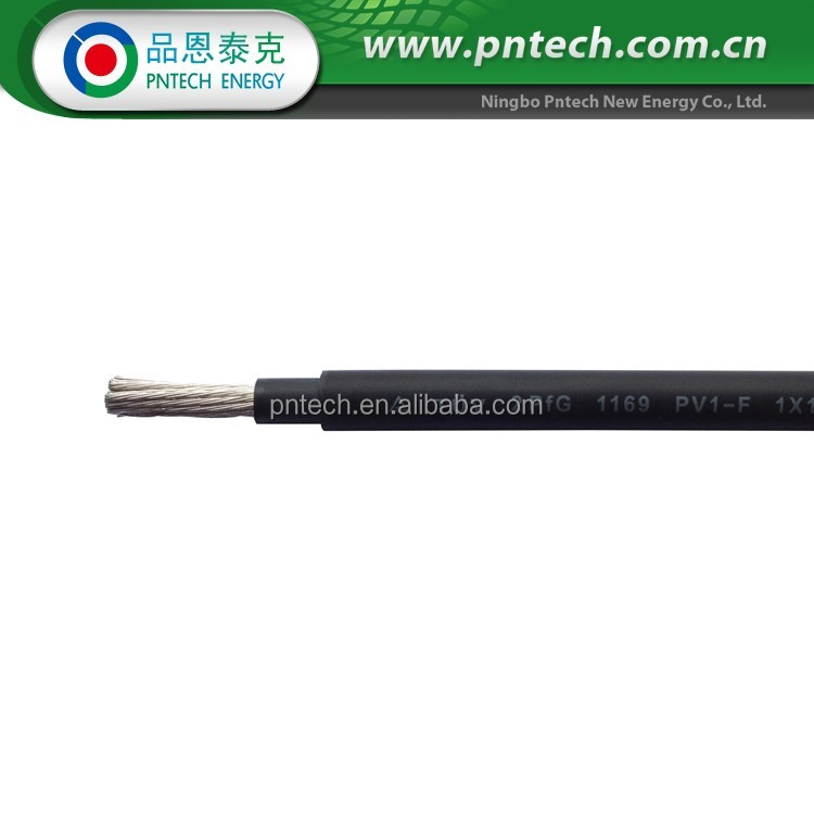 For interconnecting PV panels and inverter 4mm Solar Pv Cable