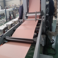 Manufacturing 600mm PVC edge banding sheet extrusion line