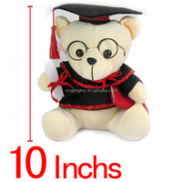 Lovely Plush Bear High Quality Custom Animal Stuffed Doll 10 inch OEM ODM