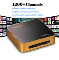 New Model Tiger Z400Pro Set Top Box & Free one Year IPTV Arabic Channels & LAN
