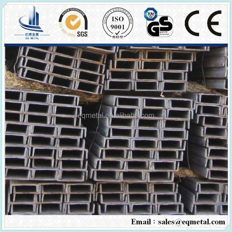 steel c shape channel for roof construction
