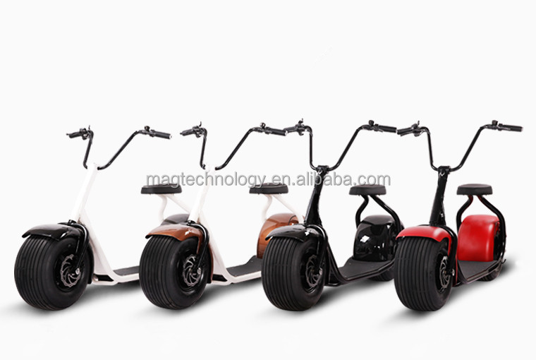 2016 most fashionable Newest factory citycoco scooter, China cheap 500w mini bluetooth electric motorcycles