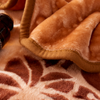 Winter warm mink blankets polyester