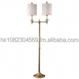 Promo Sales Murray Feiss FL6313AB 2 Light Floor Lamp in Antique Brass